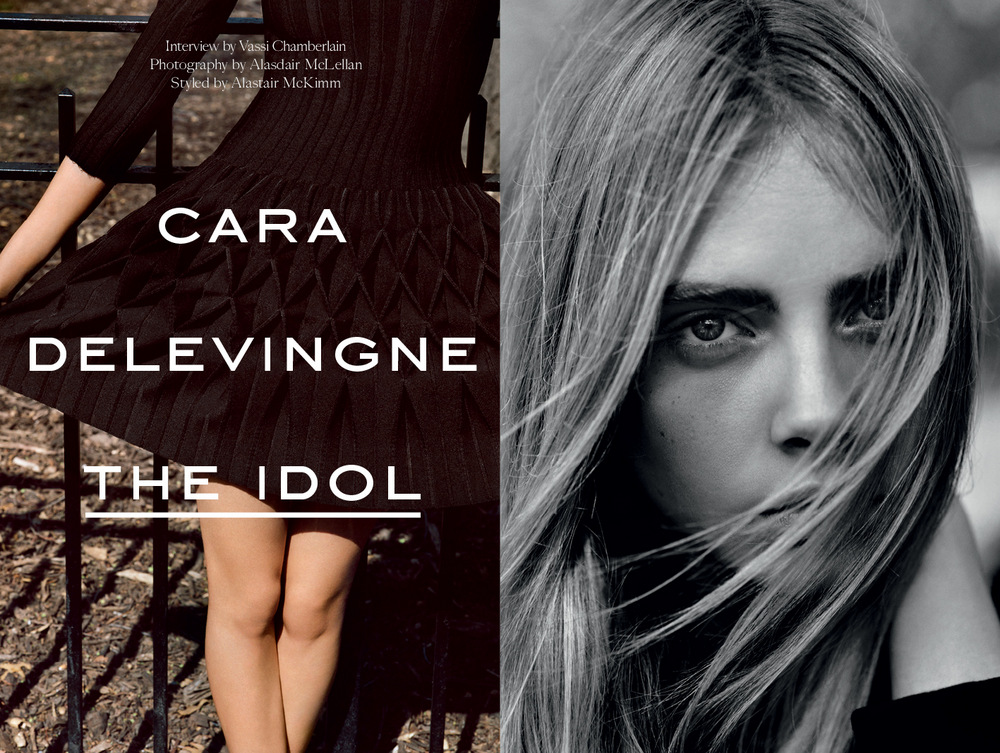 Cara Delevingne by Alasdair McLellan for Industrie 2013-001