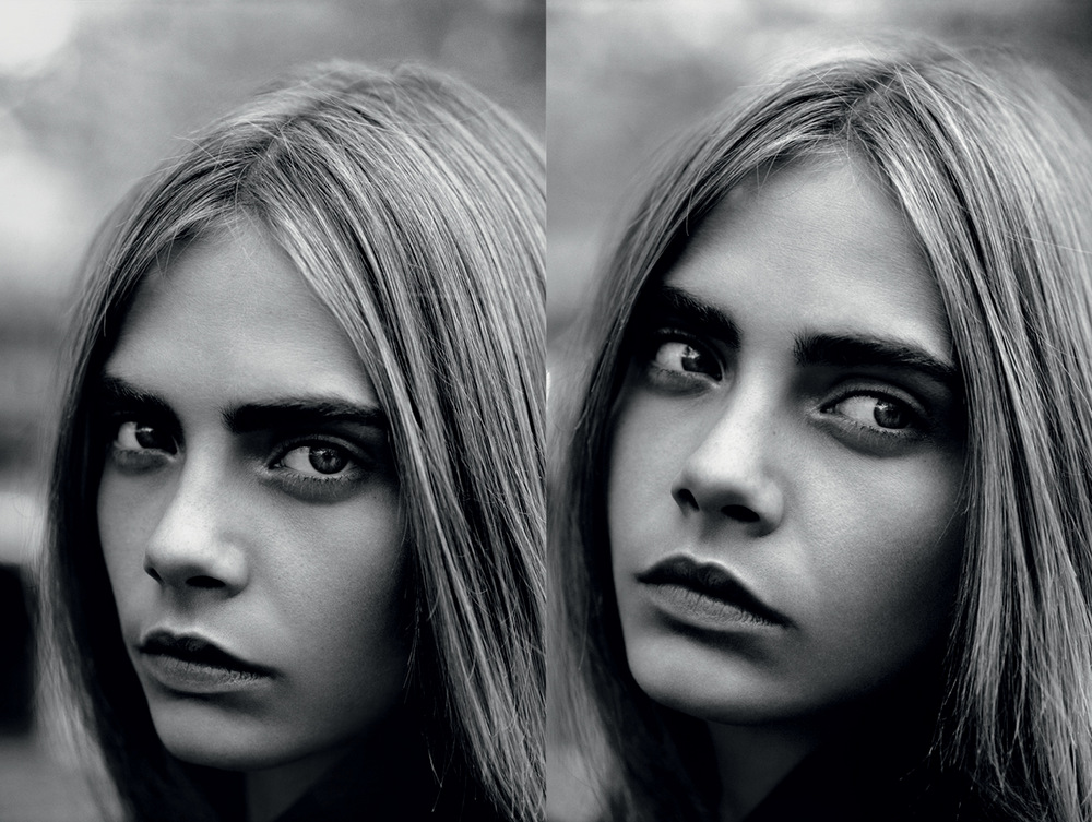 Cara Delevingne by Alasdair McLellan for Industrie 2013-003