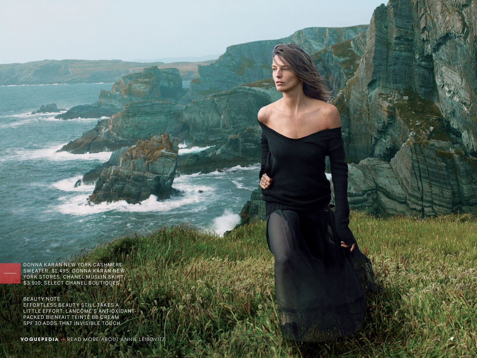 Daria Werbowy Vogue US September 2013