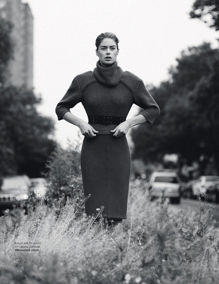 Doutzen Kroes by Thomas Whiteside for Elle France 2013-009