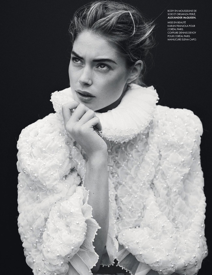 Doutzen Kroes by Thomas Whiteside for Elle France 2013-022