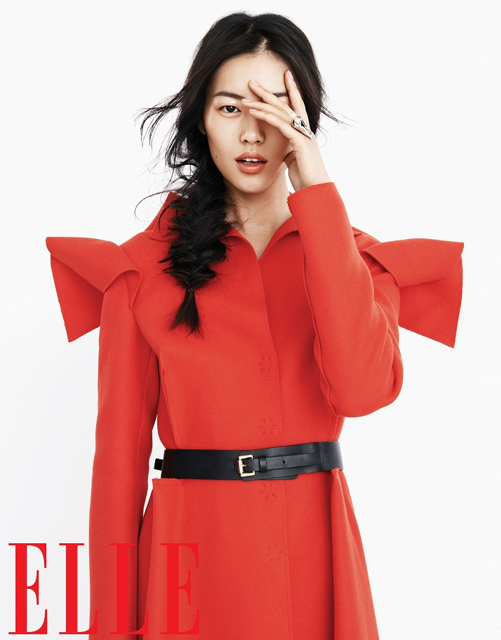 Liu Wen for Elle China September 2013-006