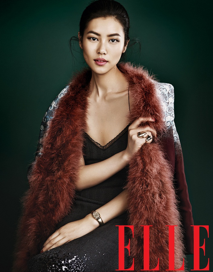 Liu Wen for Elle China September 2013-007