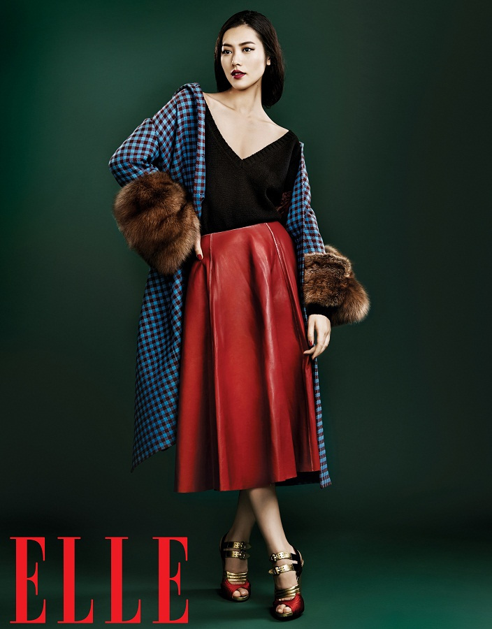 Liu Wen for Elle China September 2013-009