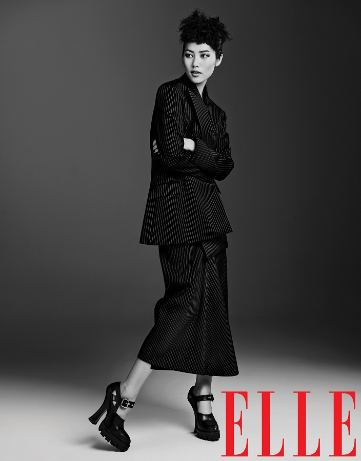 Liu Wen for Elle China September 2013-011