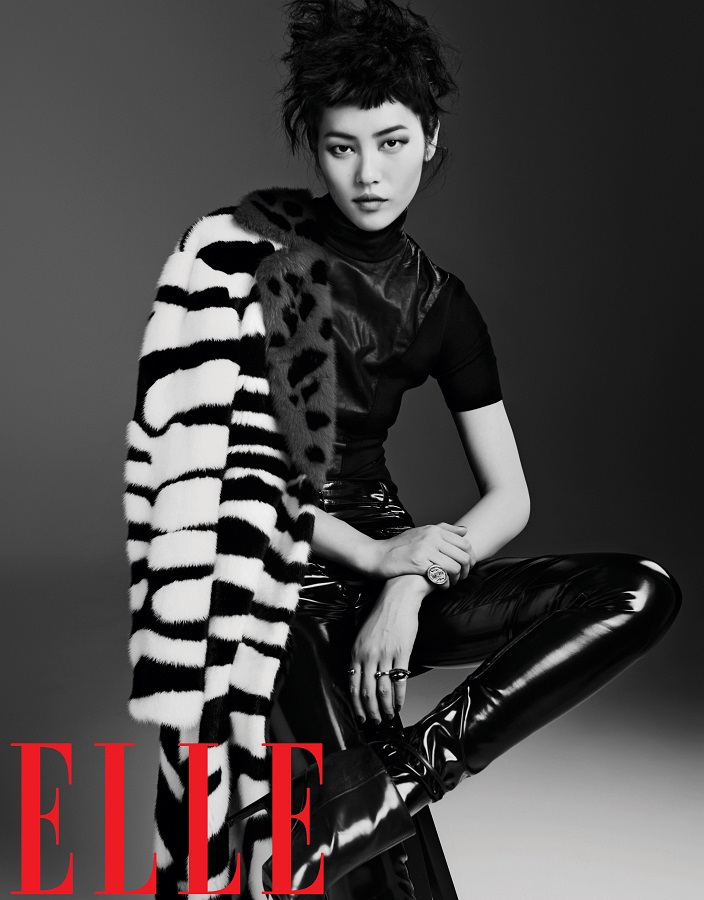Liu Wen for Elle China September 2013-012
