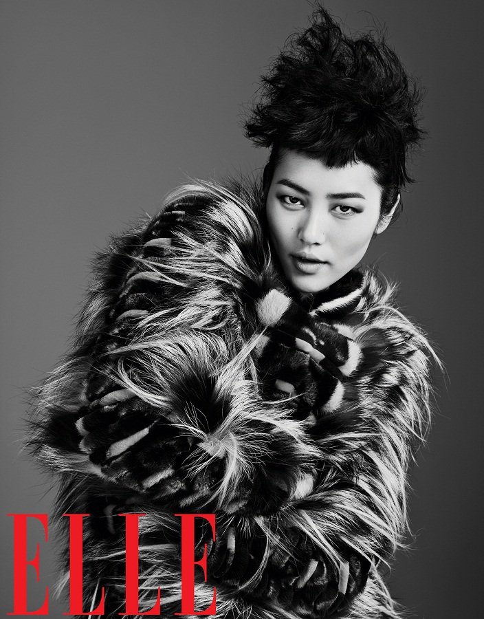 Liu Wen for Elle China September 2013-013