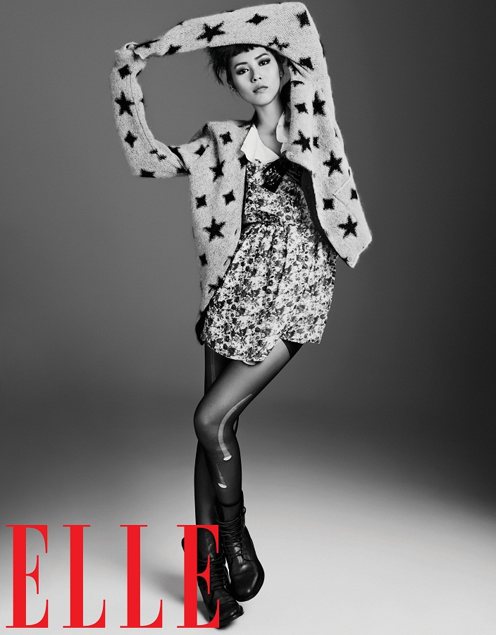 Liu Wen for Elle China September 2013