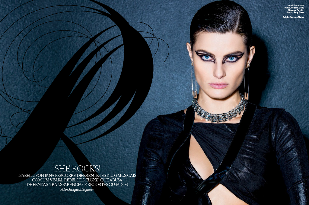 Isabelli Fontana by Jacques Dequeker for Vogue Brasil September 2013 -001