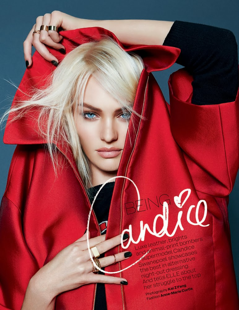 Candice Swanepoel by Kai Z Feng for Elle UK December 2013-002