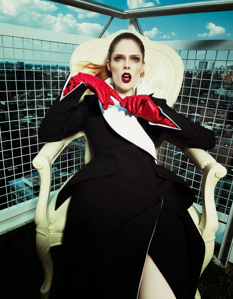 Coco Rocha Harper's Bazaar China September 2013-006