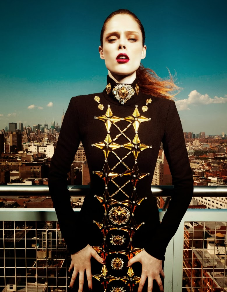 Coco Rocha Harper's Bazaar China September 2013-007