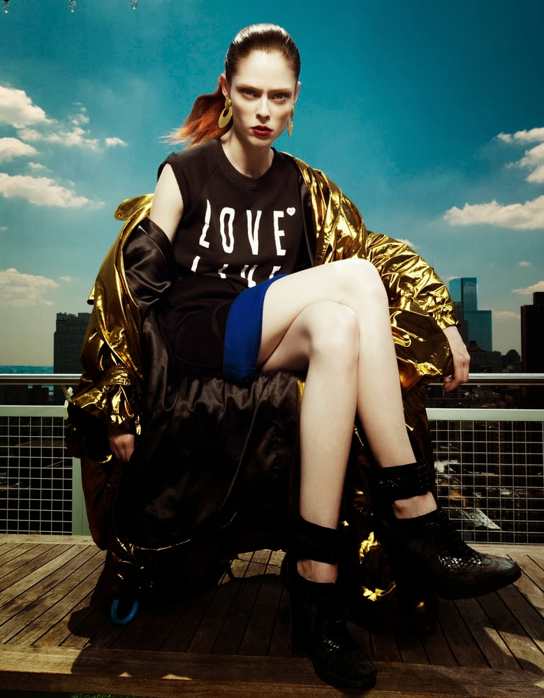 Coco Rocha Harper's Bazaar China September 2013-009