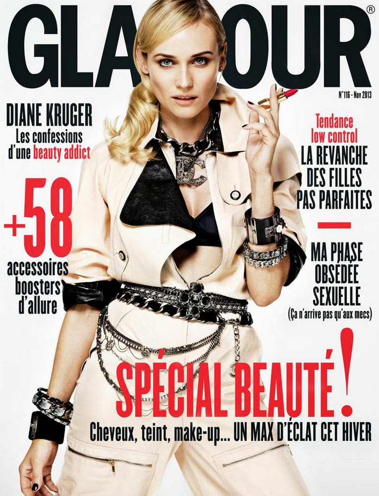 Diane Kruger Glamour Paris November 2013-007
