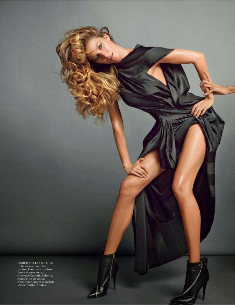 Gisele Bundchen Vogue Paris November 2013-003