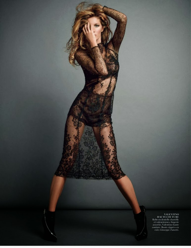 Gisele Bundchen Vogue Paris November 2013-006