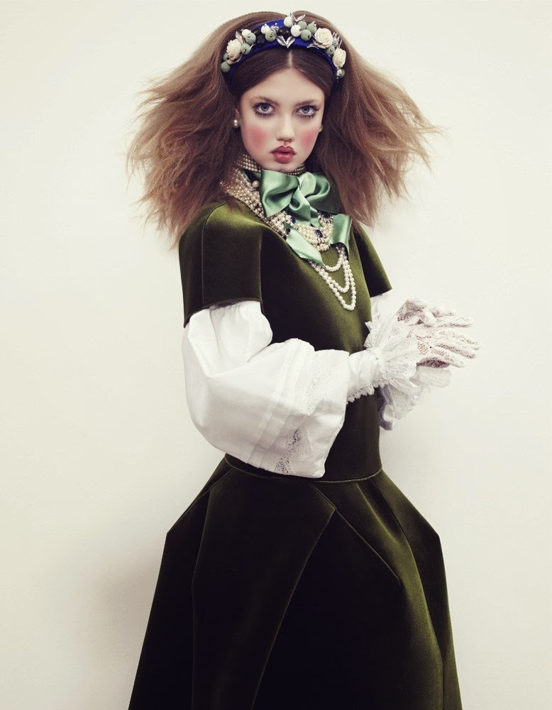 Lindsey Wixson Vogue Japan December 2013-007