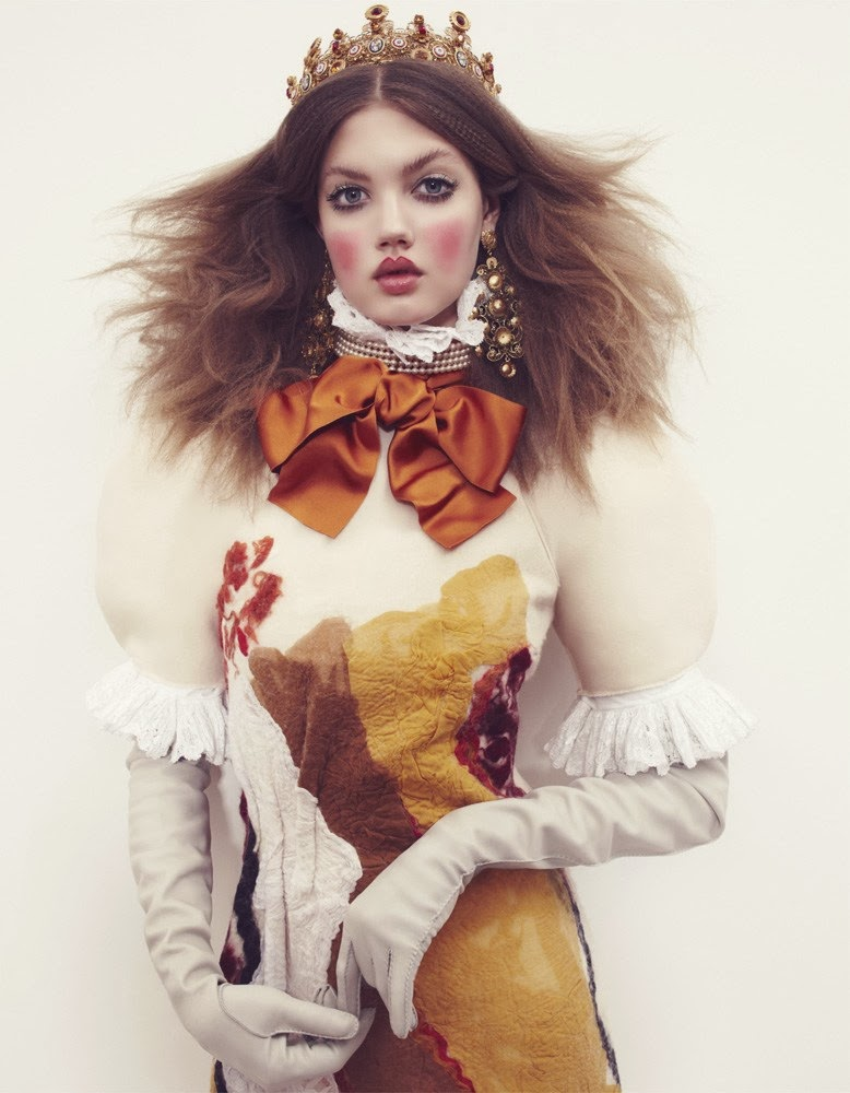 Lindsey Wixson Vogue Japan December 2013