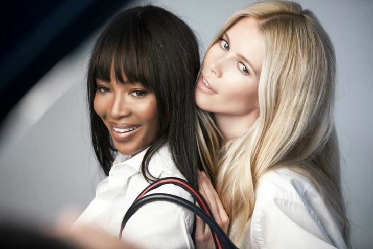 Naomi Campbell & Claudia Schiffer for Tommy Hilfiger 2013-005