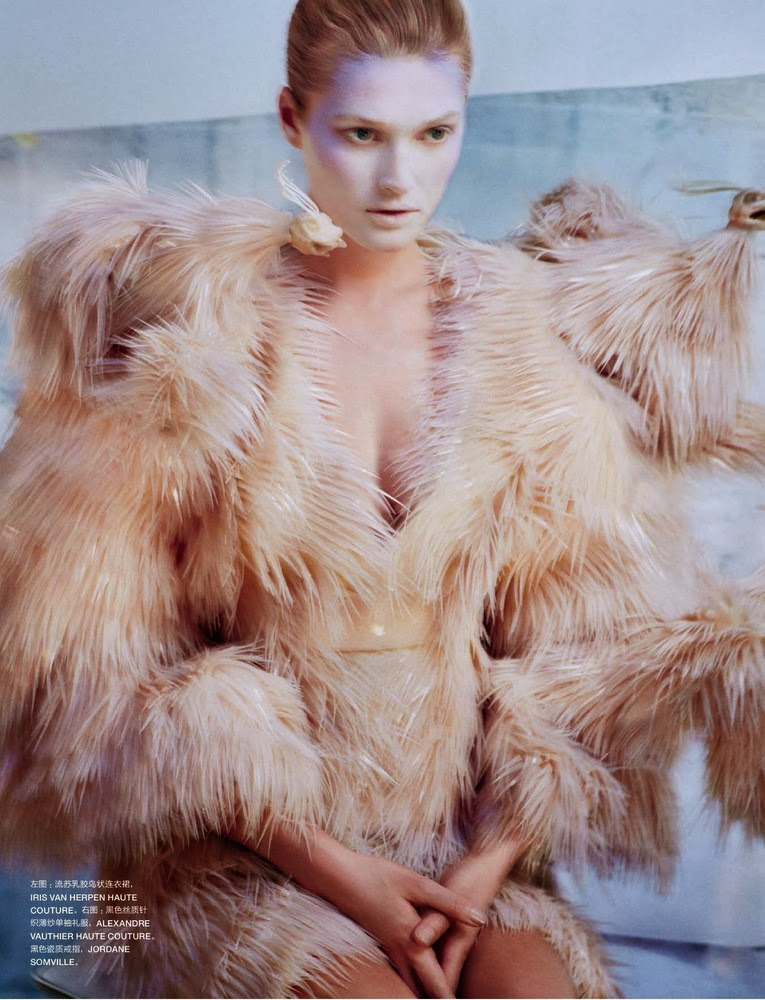 Toni Garrn by Txema Yeste for Numero China November 2013