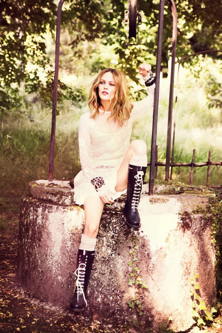 Vanessa Paradis by Ellen Von Unwerth for Madame Figaro 2013-002