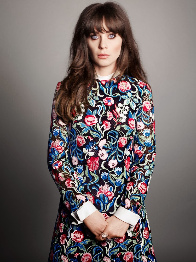Zooey Deschanel Marie Claire September 2013-003