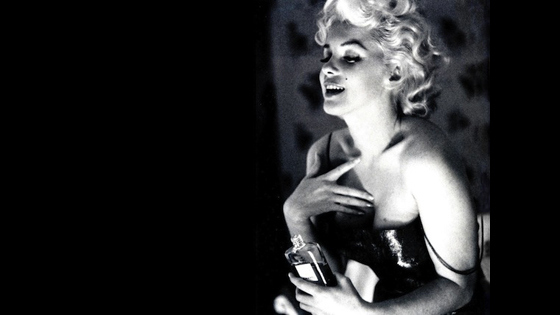 The New Face of No.5: Marilyn Monroe, she woke up!!
