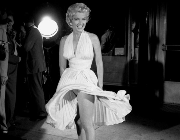 Marilyn Monroe in Vegas, according with Grandpa*