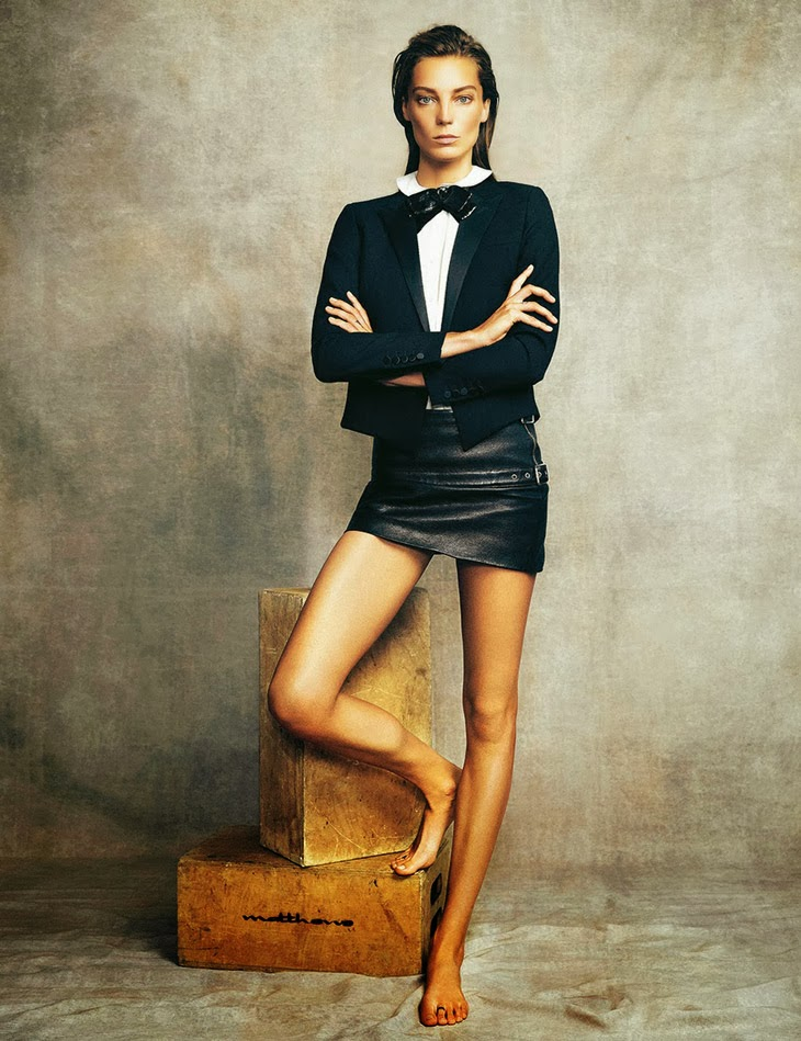 Daria Werbowy for Madame Figaro 2013