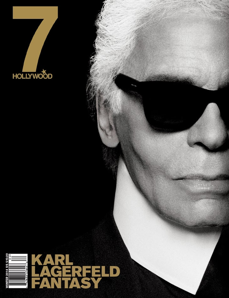 Karl Lagerfeld for 7Hollywood Fantasy Issue Covers