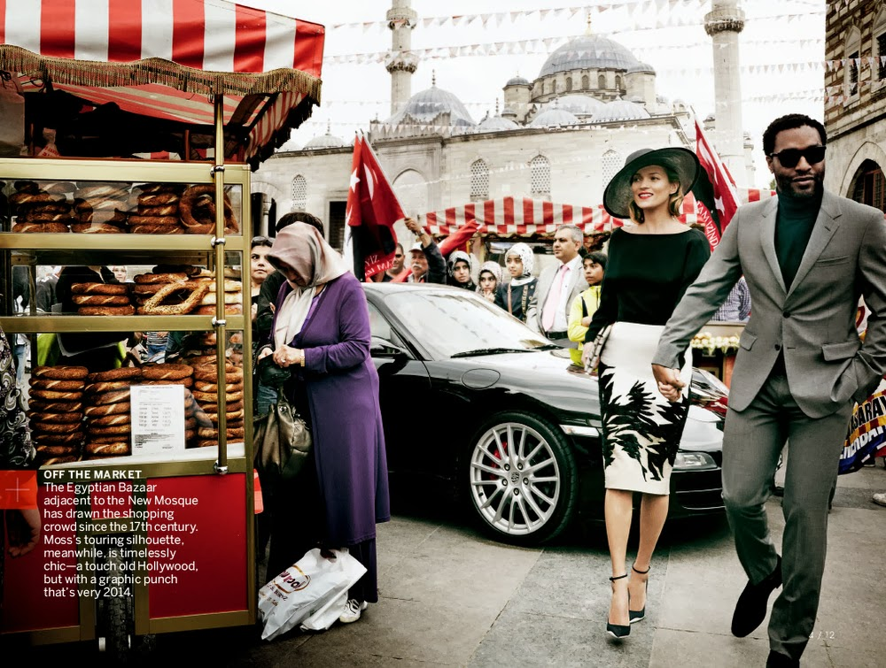 Kate Moss & Chiwetel Ejiofor Vogue US December 2013-003