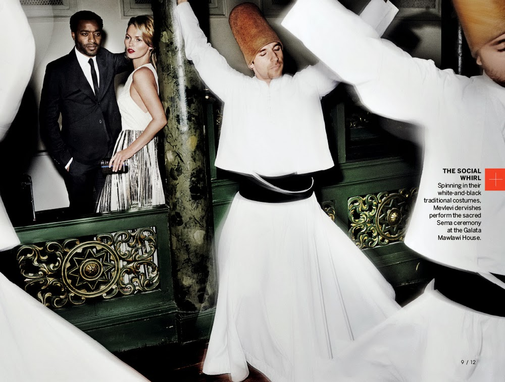 Kate Moss & Chiwetel Ejiofor Vogue US December 2013-007