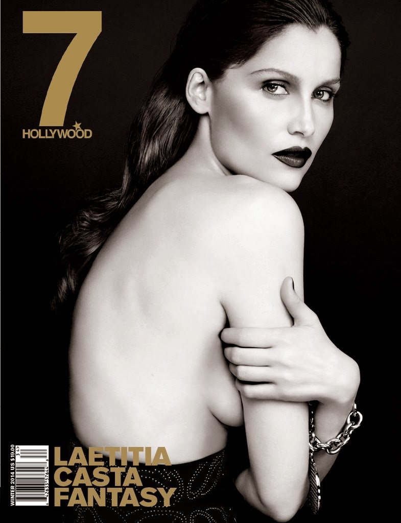 Laetitia Casta for 7Hollywood Winter 2014 Cover