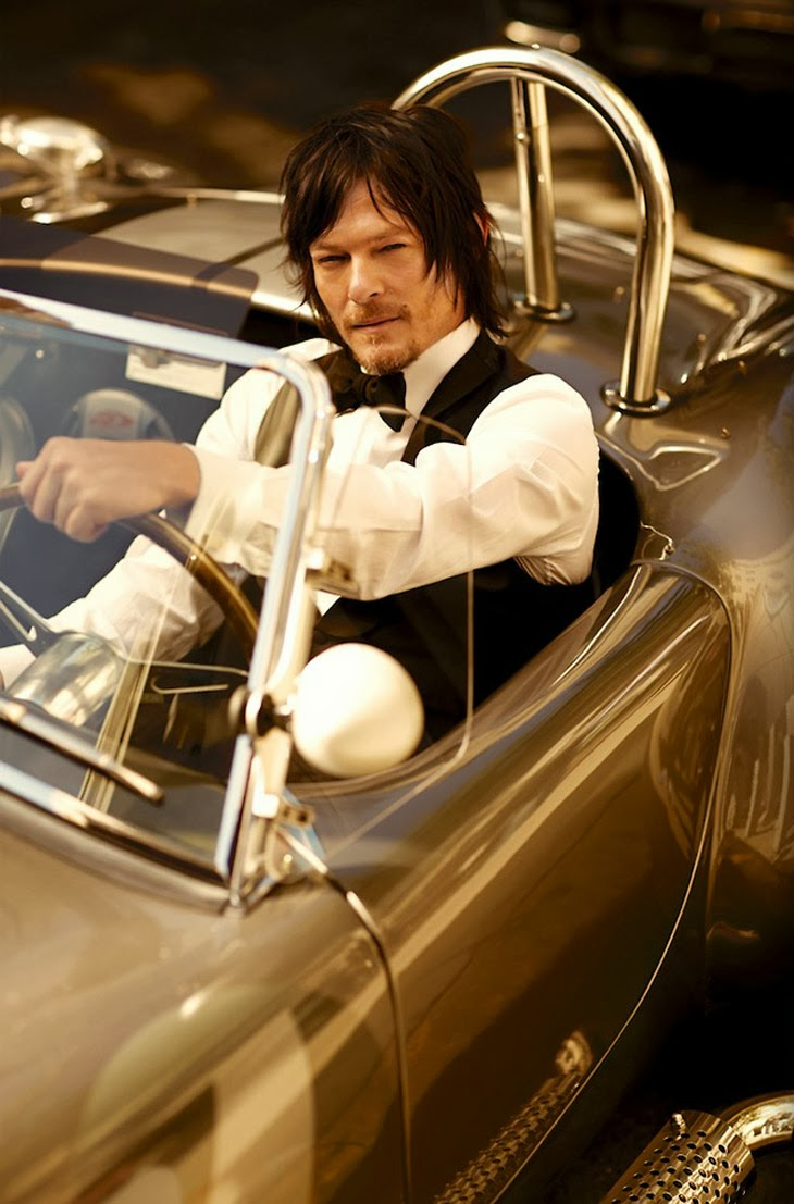 Norman Reedus by Arnaldo Anaya-Lucca for GQ 2013