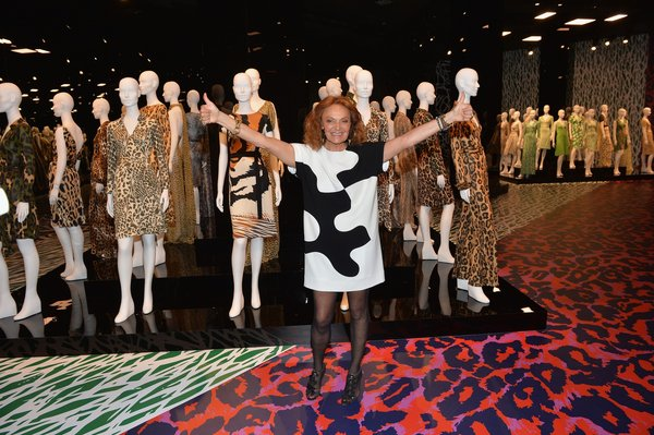Diane Von Furstenberg's Journey Of A Dress Exhibition Opening Celebration Press Conference