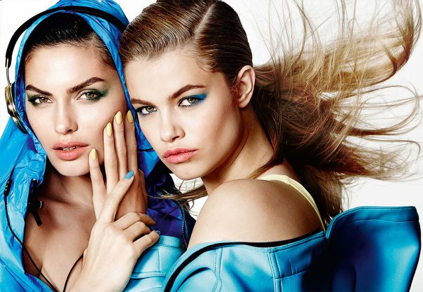 alyssa-miller-and-hailey-clauson-by-mario-testino-for-allure-march-2014
