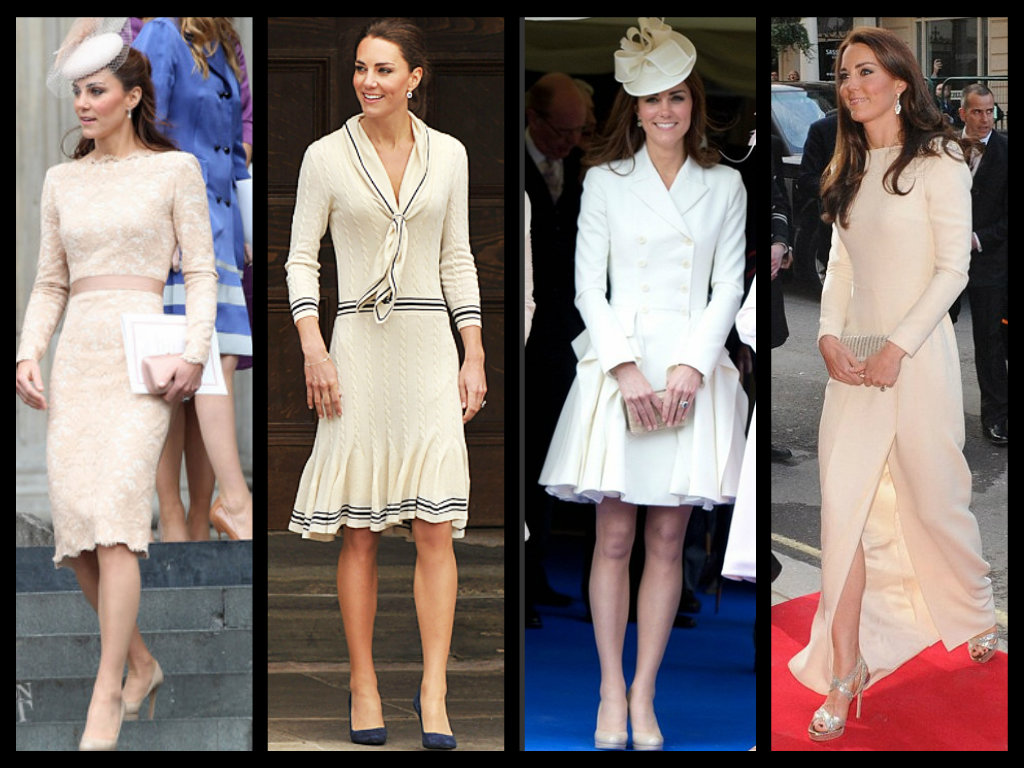 Fashion On Rock Duchess Of Cambridge Kate Middleton In Mcqueen
