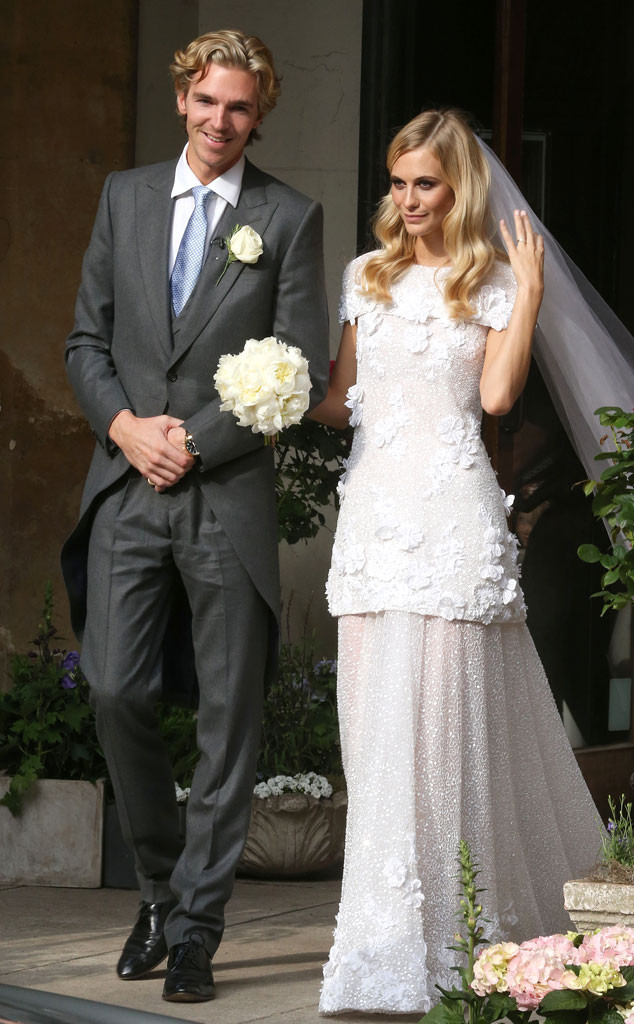 Poppy Delevingne married her beau James Cook over the weekend.