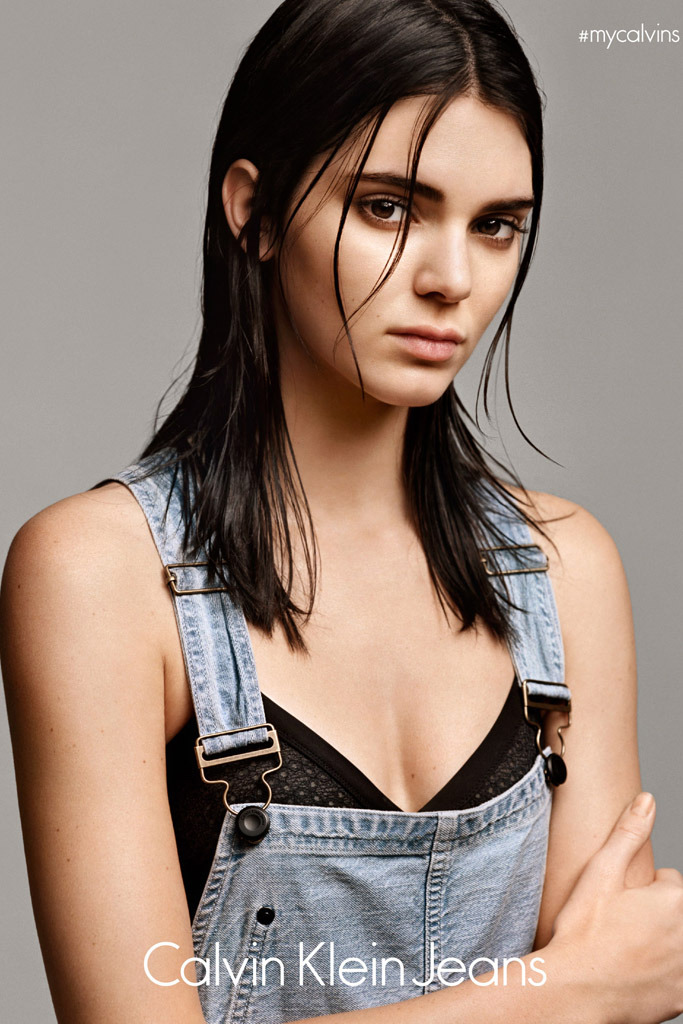 Kendall Jenner will star in the new campaign for  #mycalvins Denim Series for Calvin Klein.