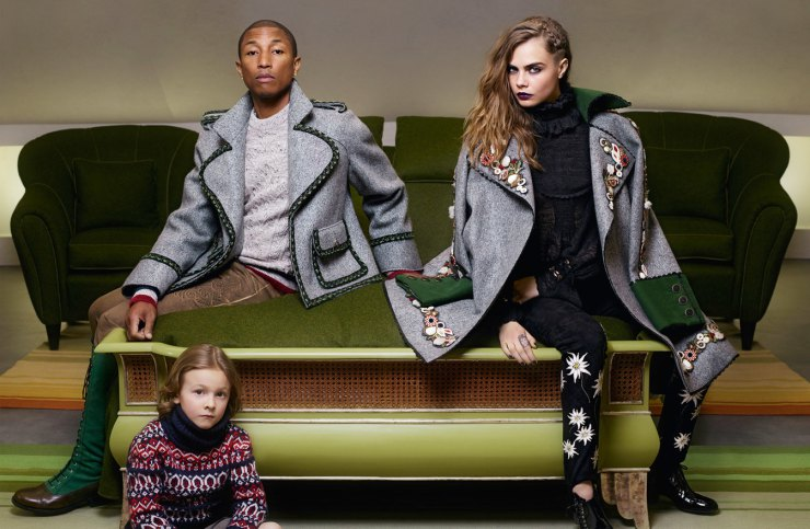 pharrell-williams-cara-delevingne-hudson-kroenig-by-karl-lagerfeld-for-chanel-mc3a9tiers-dart-2014-2015-2