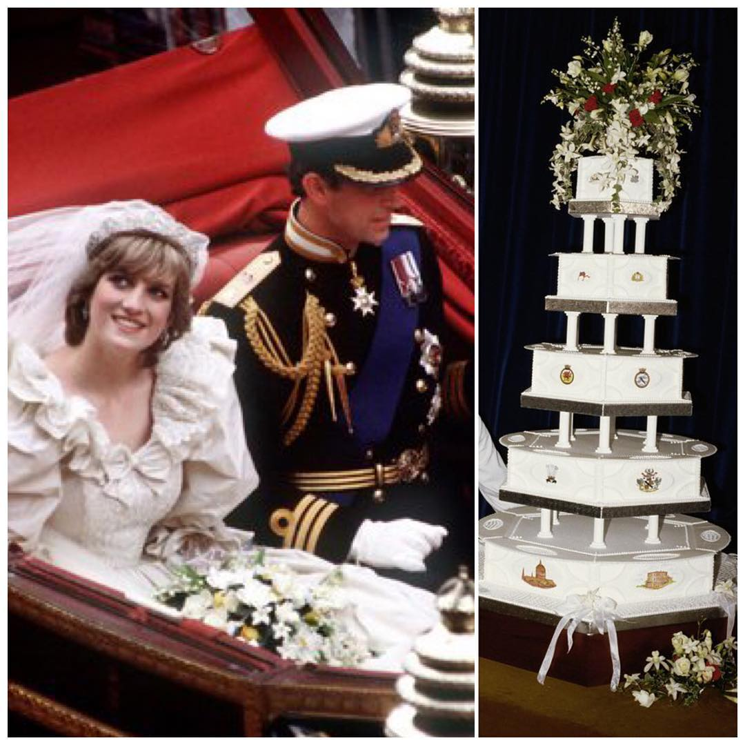 Princess Diana s gorgeous cake It's Up for Auction