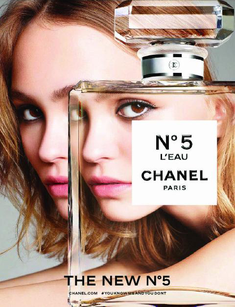 Lily-Rose-Depp-by-Karim-Sadli-for-Chanel-No.5-LEau-Fragrance-2016-Campaign