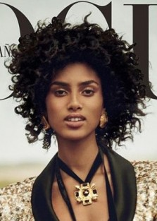 Imaan Hammam by Boo George for Vogue Spain July 2017 Cover