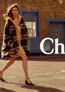 Chloé Fall'17 Collection With Models Birgit Kos & Luna Bijl