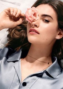 LILY JAMES Is The Face of NEW Burberry Fragrance