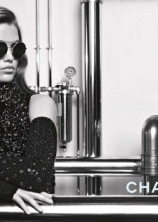 Luna Bijl is the Face of Chanel Eyewear Fall Winter 2017.18