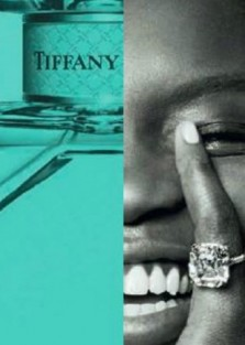 Achok Majak & Julia Nobis by Steven Meisel for Tiffany & Co New Fragrance Campaign