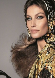 GISELE BUNDCHEN, NAOMI CAMPBELL  and Kaia Gerber FOR  VERSACE'S SPRING 2018 CAMPAIGN