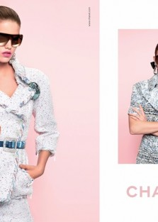 Chanel Spring-Summer 2018 Campaign by Karl Lagerfeld Styled By Carine Roitfeld
