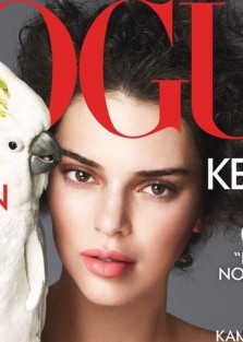 Kendall Jenner is On the  Cover Of Vogue U.S April 2018 Issue By  Mert Alas & Marcus Piggott